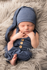 Newborn Boy Waistcoat Photography Outfit| Newborn Baby Posing Ltd